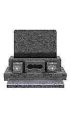 高級型(2段)洋型墓石