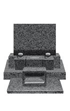 特上型(3段)洋型墓石